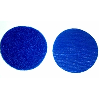 Velcros bleu marine male et femelle pour ecusson rond