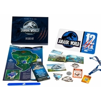 Coffret officiel Bienvenue à Jurassic World