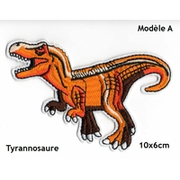 Ecusson brodé thermocollant dinosaure