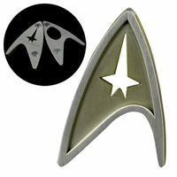 Star Trek Sans Limites Insigne badge Division Commandement