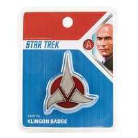 Star trek réplique insigne klingon