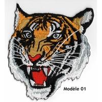 Ecusson brodé tigre