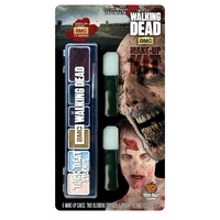 The walking Dead maquillage walker