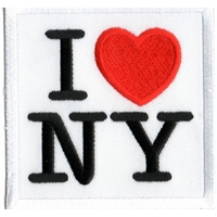 Ecusson J'aime New York