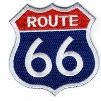 Ecusson route 66