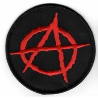 Ecusson brodé symbole Anarchie