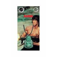 Collier Rambo III bouddha vert