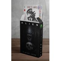 Jeu de cartes à jouer Alien