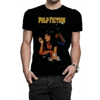 Tee shirt Pulp Fiction officiel Mia
