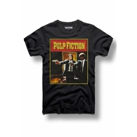 Tee shirt Pulp Fiction officiel Vincent et Jules