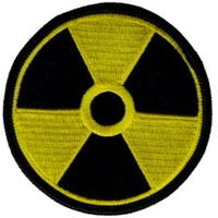 Ecusson danger radiation nucléaire