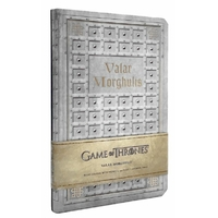 Carnet Game of Thrones Valar morghulis