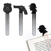 Set de 3 marque-pages pour fan de roman policier