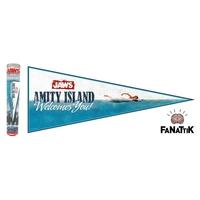 Fanion Amity Island Les dents de la mer