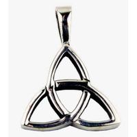 Collier Charmed symbole triquetra en argent