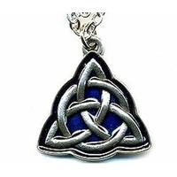 Collier Charmed symbole des 3 soeurs en étain avec chaine