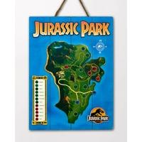 Tableau en bois Jurassic Park