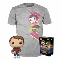 Tee-shirt et figurine POP! Retour vers le futur