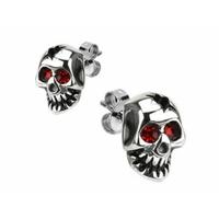 Boucles d'oreilles biker modèle reaper