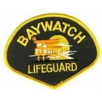 Ecusson Alerte à Malibu comme vu sur les blousons des sauveteurs