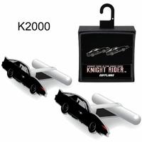 Boutons de manchettes K2000 modèle KITT Knight rider