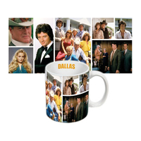 Tasse officielle casting série Dallas
