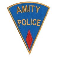 Ecusson de la police d'Amity vu dans Les dents de la mer