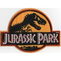 Ecusson brodé des employés du Jurassic Park ecusson uniforme jurassic park