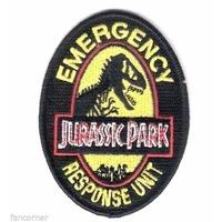 Ecusson de l'equipe d'intervention d'urgence du Jurassic park