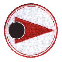 Cosmos 1999 ecusson porté par les pilotes