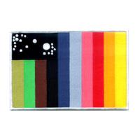 Ecusson drapeau porté par les pilotes dans la serie Cosmos 1999