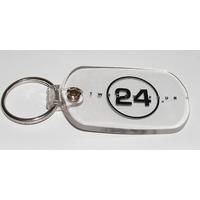 Porte cle officiel logo serie 24 heures chrono