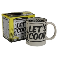 Tasse céramique Let's Cook dérivée de la série Breaking Bad tasse Breaking bad