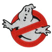 Ecusson Ghostbusters logo no ghost SOS fantomes 1