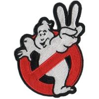 Ecusson Ghostbusters logo no ghost SOS fantomes 2