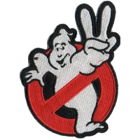 Ecusson Ghostbusters logo no ghost 2