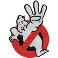 Ecusson Ghostbusters logo no ghost SOS fantomes 3