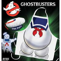 Tablier de cuisine et chapeau Ghostbusters Bibendum chamallow