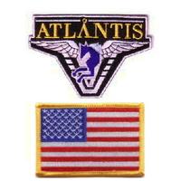 Lot de 2 ecussons Stargate Atlantis équipe USA