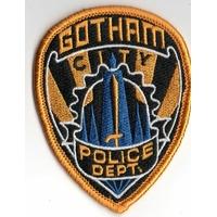 Ecusson police de Gotham comme vu dans Batman