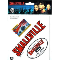 Blister autocollants officiels Smallville