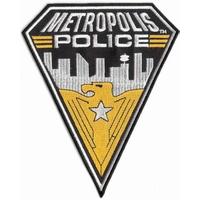 Ecusson de la police de Metropolis comme vu dans Smallville