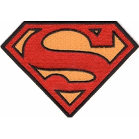 Ecusson logo symbole Superman