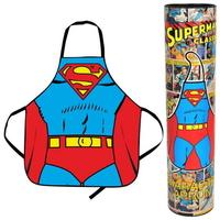 Tablier de cuisine officiel Superman avec boite