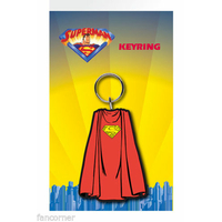 Porte cles officiel cape Superman en pvc