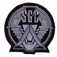 Ecusson du SGC promethée comme vu dans stargate SG1