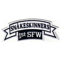 Ecusson des pilotes du F302 modèle Snakeskinners