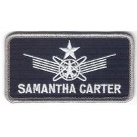 Ecusson Samantha carter comme vu dans Stargate SG1