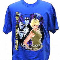 Tee shirt officiel Stargate sg1 modèle Samantha Carter