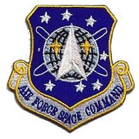 Ecusson de L'Air Force Space Command comme vu dans stargate sg1